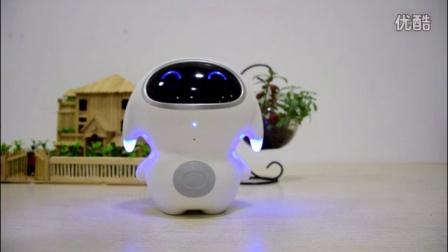 巴巴腾小腾家庭智能陪护机器人演示