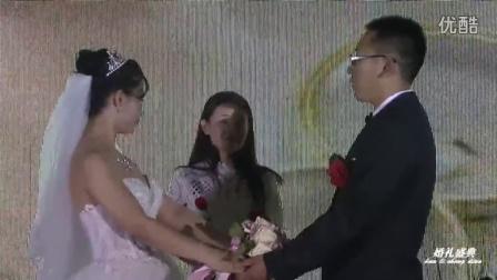 沈阳相声演员云瞰主持西式婚礼