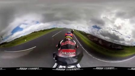 【VR资源吧】全景视频——《摩托车比赛》
