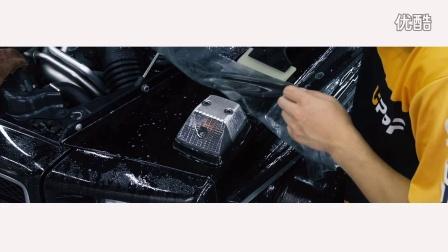 奔驰G63 AMG全车施工UPPF透明车衣