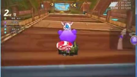 跑跑卡丁车试玩,艾特被虐哭。(MG艾特)