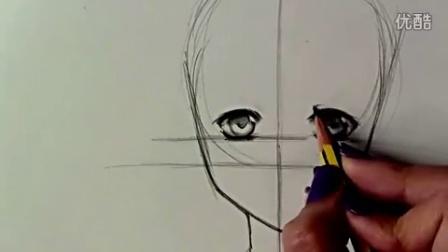 绘画教程—教你画动漫女孩  爱奇艺