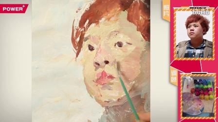 像典7头像p39彭冲色彩头像橘发胖脸绿衣男青年_超清