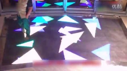 LED互动显示地砖