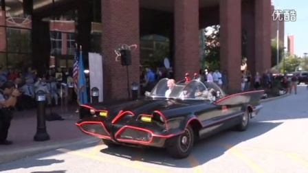 Driving with Batman