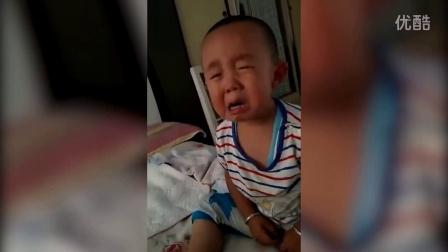 逗比孩子提妈秒哭 神演技