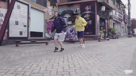 "TOPKING明星导师裤子、小俊的最新编舞""BLOWIN SWISHERS Pt.2 - KID INK"""
