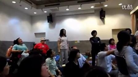台湾儿麻做瑜伽