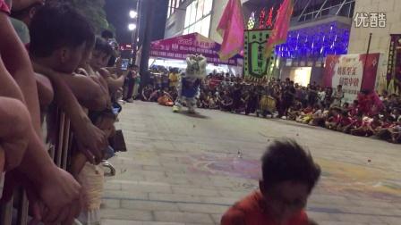 仓边坊龙狮团-2016鹤山中秋龙狮聚会