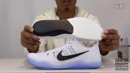 Nike Kobe 11 White Cool Grey  实物细节近赏