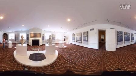 The Rotunda of UVA in 360°