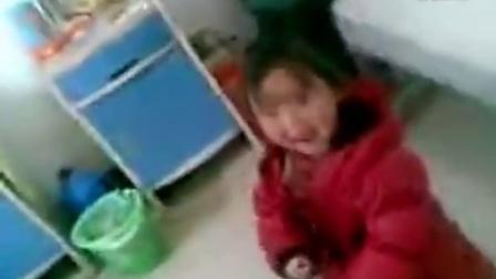 外孙女在医院跳舞