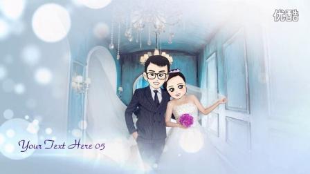 【卯兔商城】Hb11-浪漫心形婚纱照相册QQ13474061085