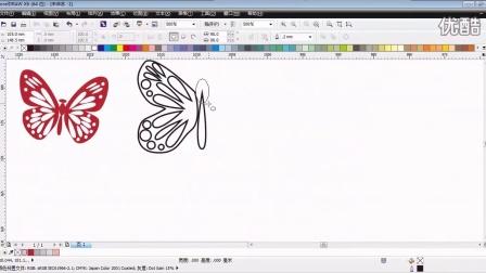 CorelDRAW案例教程-设计樱花屏风