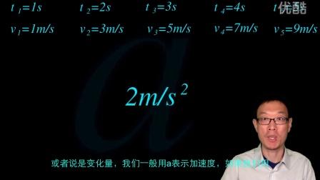 高中物理必修一 7 加速度