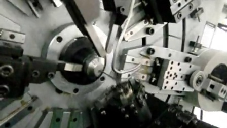 永腾弹簧机加工汽车单蛇簧12-420R