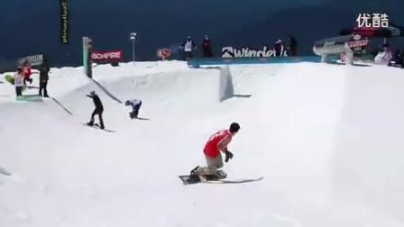 激情的冰雪季单板滑雪达人最牛特技《利致网》_高清_1