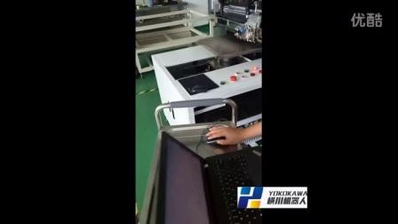 YOKOKAWA DD马达 玻璃切割机 应用视频 横川高精度电机