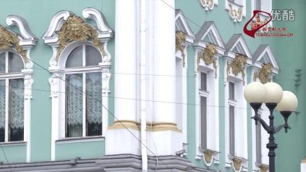冬宫广场。视频片段