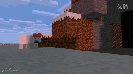 Minecraft动画 北极熊生活