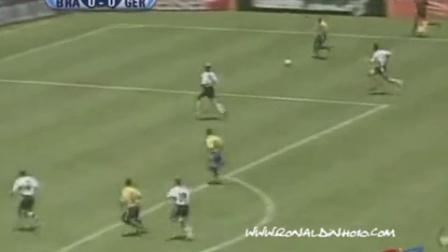 小罗1999联合会杯 巴西VS德国