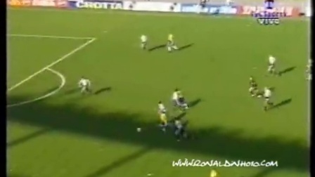 小罗1999国际友谊赛 阿根廷VS巴西