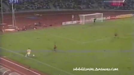 小罗1999U20世青赛西班牙vs巴西