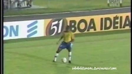 小罗 2000悉尼奥运会 巴西VS阿根廷