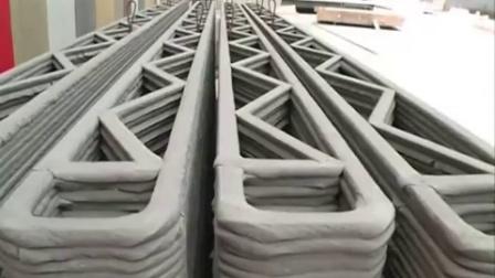 中国3D打印建筑—24小时打印十个房子