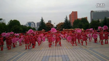汝阳县庆祝全国第四个老年节第十三届老年健身大会《汝阳威风锣鼓》