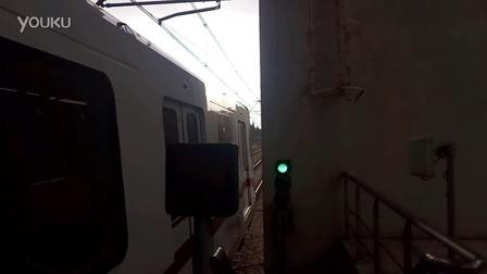 轨道交通十一号线昌吉东路往花桥方向出站(回库列车)