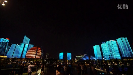 G20期间的杭州城市灯光秀