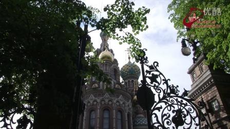 圣彼得堡。滴血救世主教堂。 视频片段