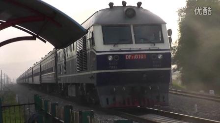 00138某列车通过靖宇街道口