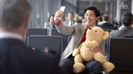 Lufthansa Teddy bear moving image