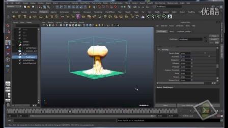 Maya 流体3D 爆炸3Explosion 3