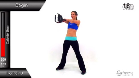 45 Minute HIIT & Total body Toning Tabata Workout - High