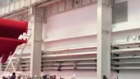 仿真扑翼机室内飞行