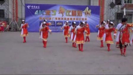 联财镇阳光艺术团 广场舞比赛