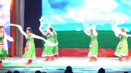 联财镇阳光艺术团舞蹈多彩的哈达
