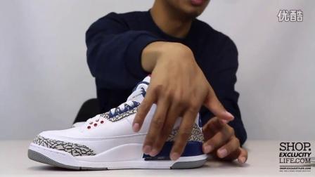 Air Jordan 3 Retro OG 'True Blue' 实物细节近赏