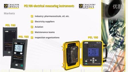 法国CA公司—电能质量记录仪PEL系列简介视频