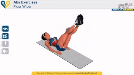 Best exercise to get abs FAST, six pack - Floor Wiper