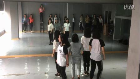 怀化学院街舞协会New Step Crew  基础进阶A班 blackpink《boombayah》课堂实录
