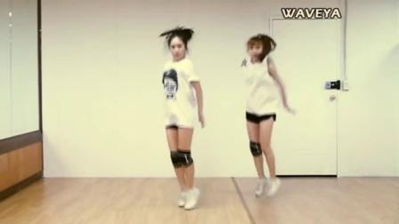 EXO Growl 美女热舞 舞蹈 广场舞 Waveya Ari MiU (sisters) kpop cover dance