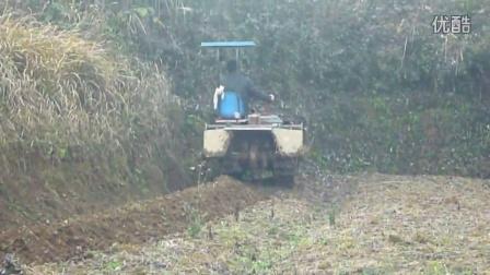 丘陵山区小型旋耕起垄机