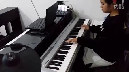 梦中的婚礼 赵竹听弹钢琴