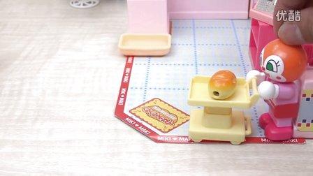 【日本代购】小猪佩奇 面包超人做面包