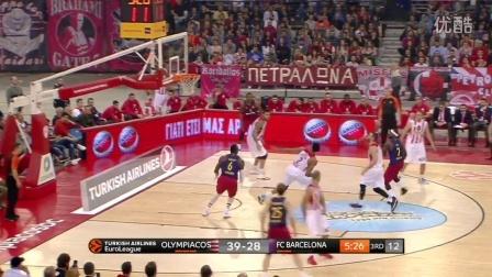 Highlights- Olympiacos Piraeus-FC Barcelona Lassa