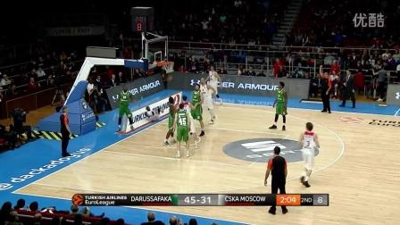 Highlights- Darussafaka Dogus Istanbul-CSKA Moscow